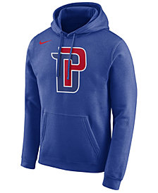 Nike Men's Detroit Pistons Essential Logo Pullover Hoodie