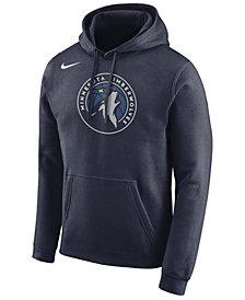 Nike Men's Minnesota Timberwolves Essential Logo Pullover Hoodie