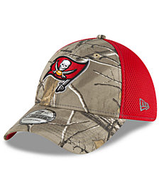New Era Tampa Bay Buccaneers Realtree Camo Team Color Neo 39THIRTY Cap