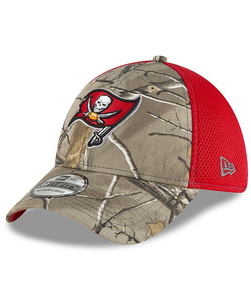 new products 65f8d ecefe ... New Era Tampa Bay Buccaneers Realtree Camo Team Color Neo 39THIRTY Cap  ...