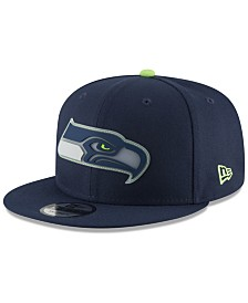 New Era Seattle Seahawks Team Clear 9FIFTY Snapback Cap