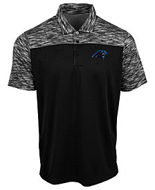 Authentic NFL Apparel Men's Carolina Panthers Final Play Polo