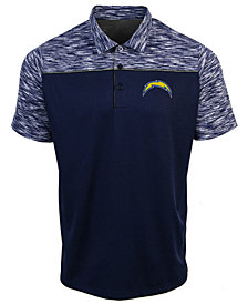 Authentic NFL Apparel Men's Los Angeles Chargers Final Play Polo