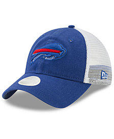 New Era Women's Buffalo Bills Trucker Shine 9TWENTY Snapback Cap