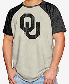 Retro Brand Men's Oklahoma Sooners Tonal Short Sleeve Raglan T-Shirt