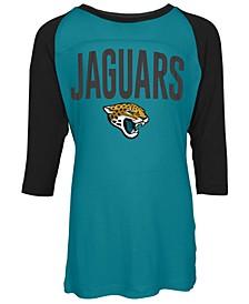 Jacksonville Jaguars Raglan T-Shirt, Girls (4-16)