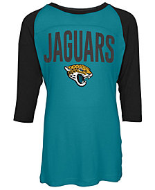 5th & Ocean Jacksonville Jaguars Raglan T-Shirt, Girls (4-16)