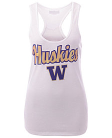 5th & Ocean Women's Washington Huskies Script Logo Tank