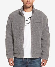 Men's Fleece Bomber Jacket