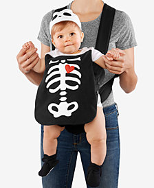 Carter's Baby Boys & Girls 3-Pc. Hat, Skeleton Costume & Booties Costume Set