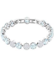 Swarovski Crystal & Pavé Link Bracelet