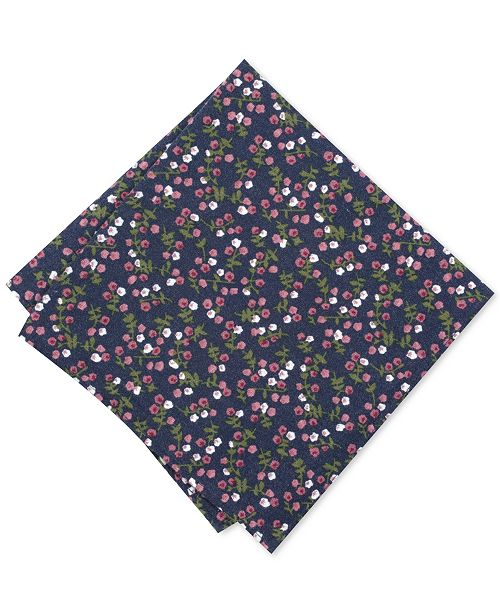 Bar III Men's Bellair Floral Pocket Square, Created for Macy's