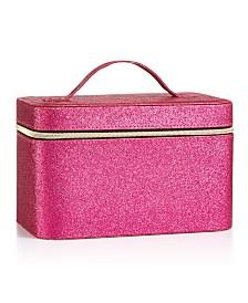 Jade & Deer Pink Train Case