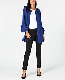 Collarless Jacket, Tank Top & Slim Pants, Created for Macy's