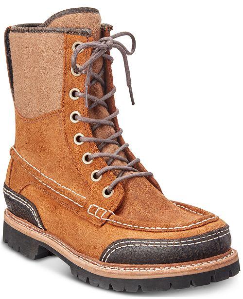 Woolrich Men's Squatch Waterproof Leather Boots