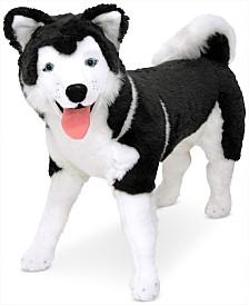 Melissa & Doug Lifelike Plush Giant Siberian Husky Dog