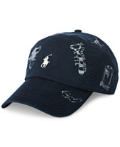 5db41dd5a5a Polo Ralph Lauren Men s Printed Baseball Cap