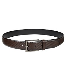 Alfani Men's Basketweave Dress Belt, Created for Macy's