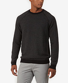 Kenneth Cole Men's Alternative City Grid Sweater
