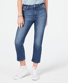 70294201d8d Celebrity Pink Juniors  Cropped Straight-Leg Jeans