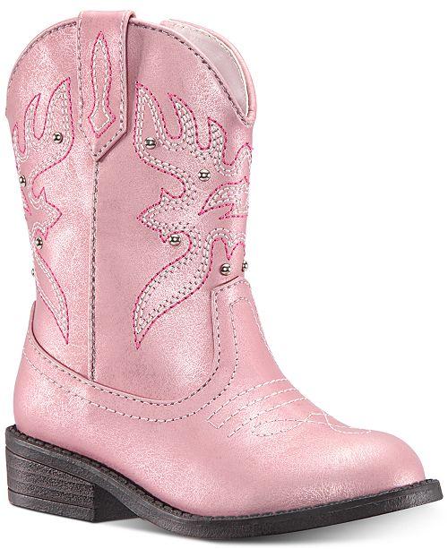 3d1dc9ebcdb Nina Mairabela Cowgirl Boots, Toddler & Little Girls & Reviews ...