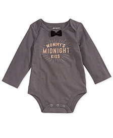 First Impressions Baby Boys Midnight Kiss Graphic Bodysuit, Created for Macy's