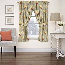 Sanctuary Rose Floral Window Curtain