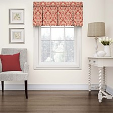 Wavelry Donnington Box Pleat Window Valance