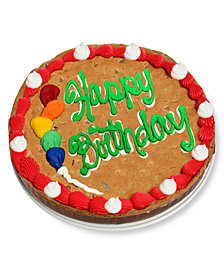 Chocolate Covered Company® Happy Birthday Cookie Bark Cake
