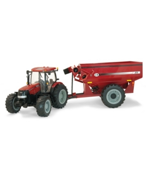 Tomy - Big Farm 1:16 Case 180 With J And M Grain Cart