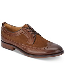Men's Hausman Dress Wingtip Leather Oxfords