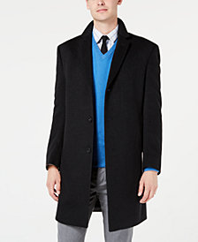 Kenneth Cole New York Men's Slim-Fit Raburn Cashmere Overcoat