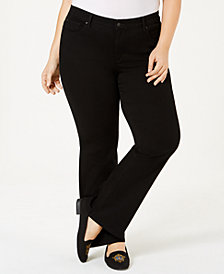 Charter Club Plus Size Prescott Bootcut Jeans, Created for Macy's