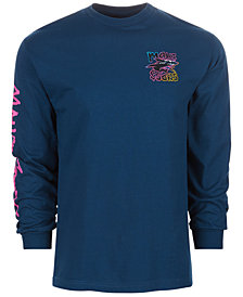 Maui and Sons Men's Neon Twist Logo Graphic T-Shirt