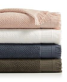 CLOSEOUT! French Connection Dorinda Cotton Fringe Bath Towel Collection