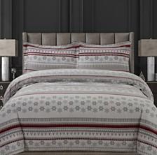Snowmitten Cotton Flannel Printed Oversized Duvet Sets