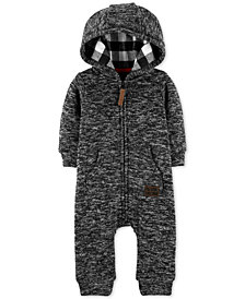 Carter's Baby Boys Hooded Coverall