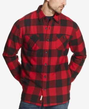 Men's Vintage Workwear – 1920s, 1930s, 1940s, 1950s Weatherproof Vintage Mens Vintage Shirt Jacket $26.93 AT vintagedancer.com