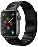 AppleWatch Series4 GPS+Cellular, 44mm Space Gray Aluminum Case with Black Sport Loop