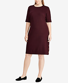 Lauren Ralph Lauren Plus Size Sheath Dress