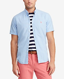 517513bd932464 Polo Ralph Lauren Men s Classic Fit Cotton Oxford Shirt