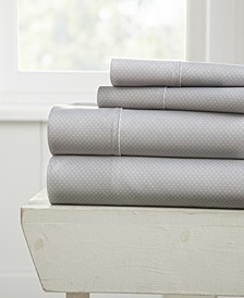 The Boho & Beyond Premium Ultra Soft Pattern 4 Piece Bed Sheet Set by Home Collection  - Full