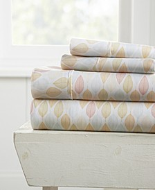 The Boho & Beyond Premium Ultra Soft Pattern 3 Piece Bed Sheet Set by Home Collection - Twin