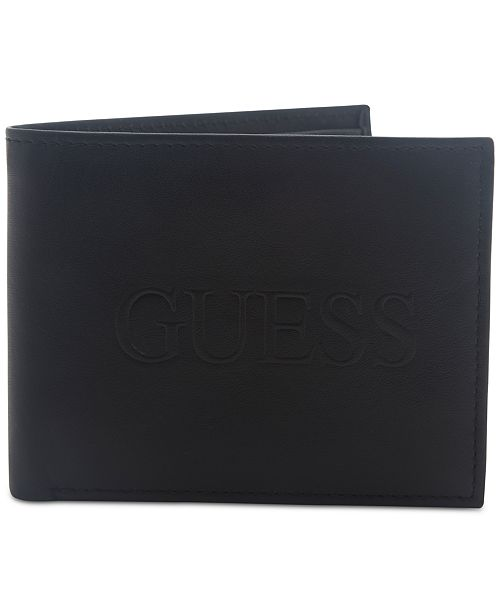 GUESS Men s Pomona RFID Leather Wallet   Reviews - All Accessories ... c6e52db80c3df