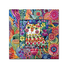 Oxana Ziaka 'Cat' Canvas Art Collection