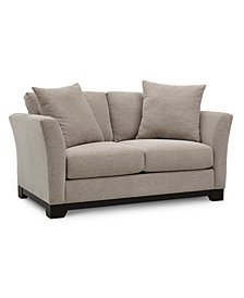 "Elliot II 66"" Fabric Loveseat, Created for Macy's"
