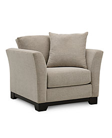 "Elliot II 32"" Fabric Arm Chair"