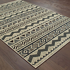 "Oriental Weavers Linden 7824A Grey/Blue 1'10"" x 3' Area Rug"