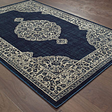 "Oriental Weavers Linden 7937A Navy/Gray 9'10"" x 12'10"" Area Rug"