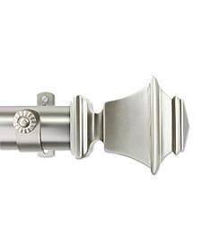 """Bach 1.5"""" Custom Cut Length Drapery Rod"""